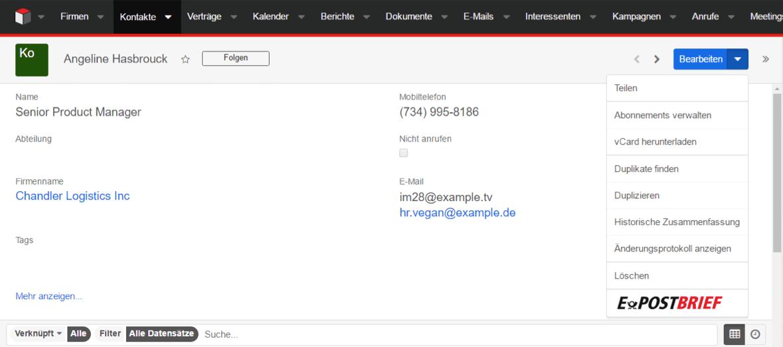 E Post Webinar Aufzeichnung Digitaler Briefversand Insignio Crm