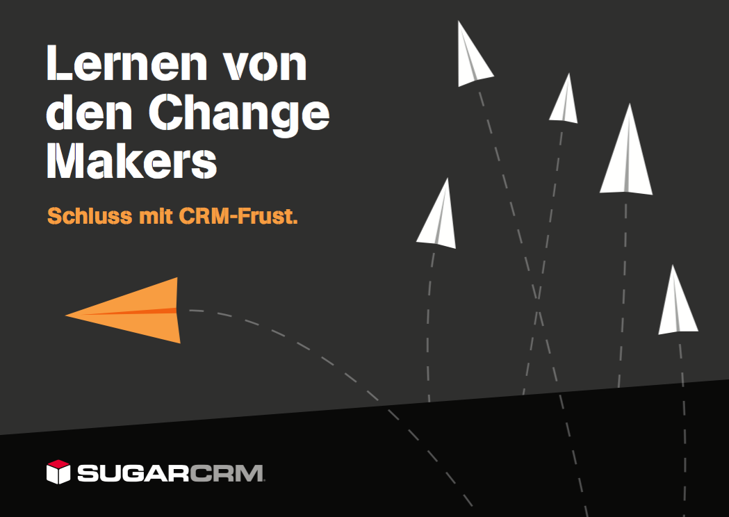 Changemaker E-Book von SugarCRM